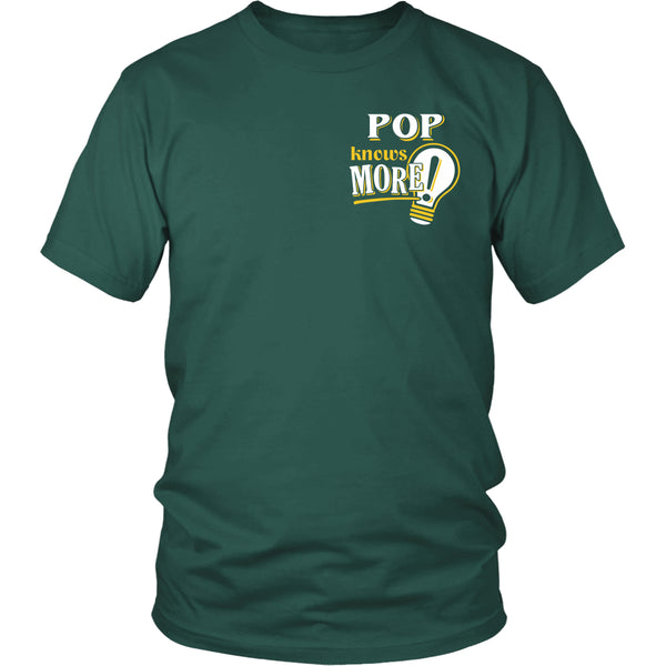 Pop Knows More T-Shirt -  Pop Shirt - TeeAmazing - 5