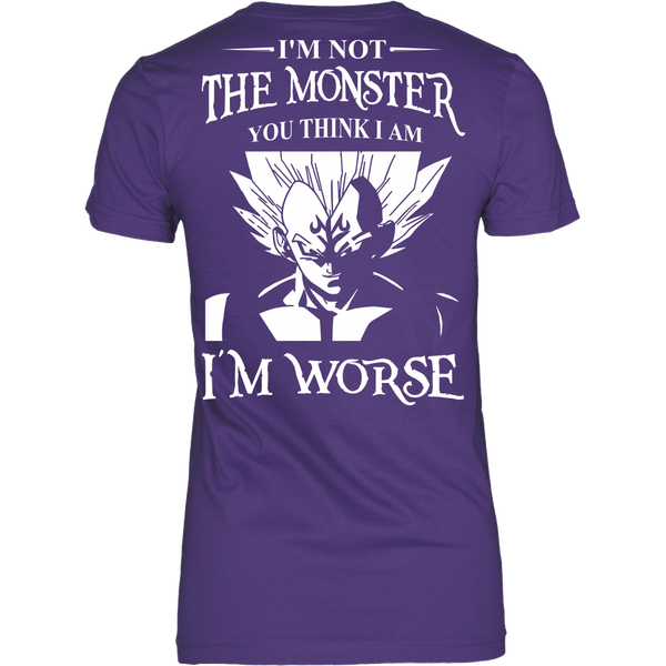 I'm Not The Monster You Think I Am T Shirts, Tees & Hoodies - Dragonball Shirts - TeeAmazing - 10