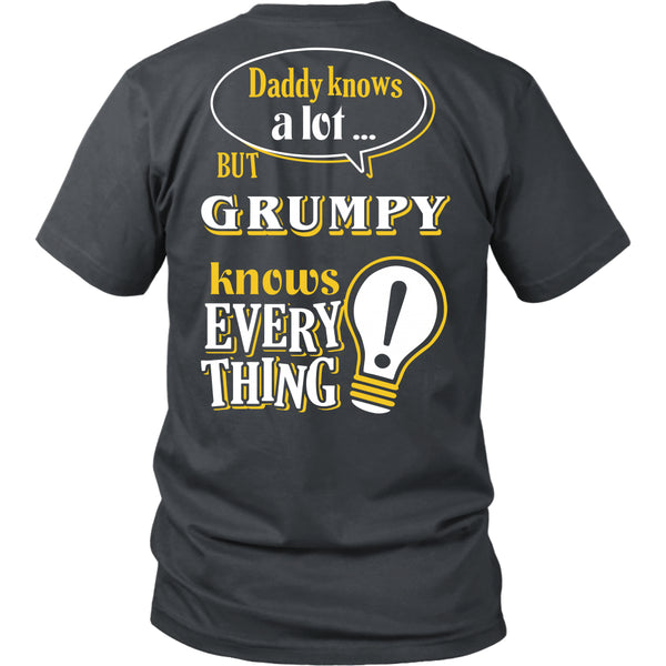 Grumpy Knows More T-Shirt -  Grumpy Shirt - TeeAmazing - 8