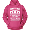 I Am A Proud Dad, Daugther T Shirts, Tees & Hoodies - Dad Shirts - TeeAmazing