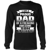I Am A Proud Dad, Son T Shirts, Tees & Hoodies - Dad Shirts - TeeAmazing - 7