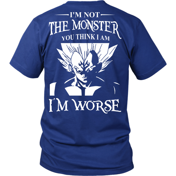 I'm Not The Monster You Think I Am T Shirts, Tees & Hoodies - Dragonball Shirts - TeeAmazing - 2