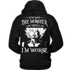 I'm Not The Monster You Think I Am T Shirts, Tees & Hoodies - Dragonball Shirts - TeeAmazing - 7