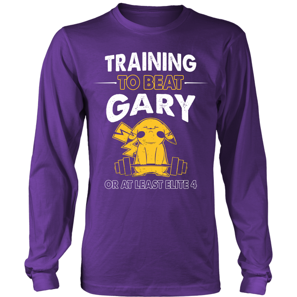 Training To Beat GARY T Shirts, Tees & Hoodies -  Pokemon Shirts - TeeAmazing - 5