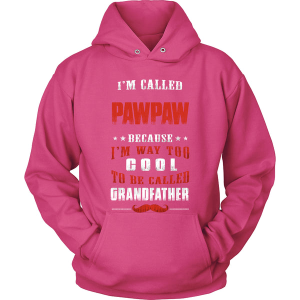 Pawpaw Way Too Cool Grandfather T-Shirt - Pawpaw Shirt - TeeAmazing - 8