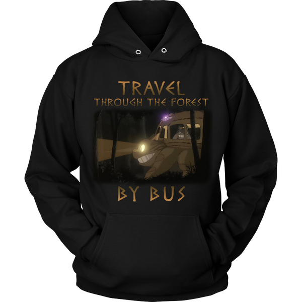 Travel Through The Forest By Bus T Shirts, Tees & Hoodies - Totoro Shirts - TeeAmazing - 7