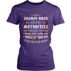 Gramps Biker With My Motorcycle T-Shirt - Gramps Motorcycle Shirt - TeeAmazing - 10
