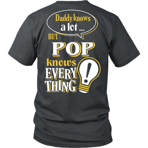 Pop Knows More T-Shirt -  Pop Shirt - TeeAmazing - 8