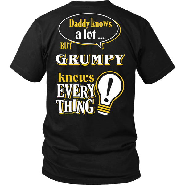 Grumpy Knows More T-Shirt -  Grumpy Shirt - TeeAmazing - 10