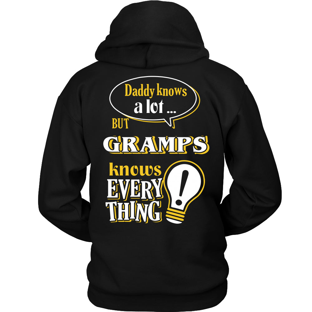 Gramps Knows More T-Shirt -  Gramps Shirt - TeeAmazing