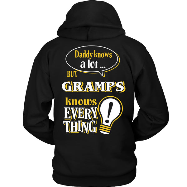 Gramps Knows More T-Shirt -  Gramps Shirt - TeeAmazing - 1