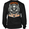 Pops The Man The Myth The Legend T Shirts, Tees & Hoodies - Grandpa Shirts - TeeAmazing