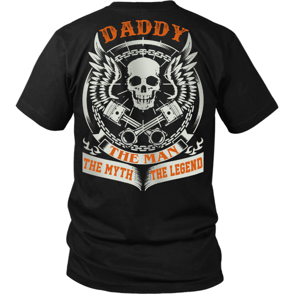 DADDY The Man The Myth The Legend T Shirts, Tees & Hoodies - Dad Shirts - TeeAmazing - 1