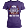 Created Equal Pops Motorcycle T-Shirt - Pops Motorcycle Shirt - TeeAmazing - 10