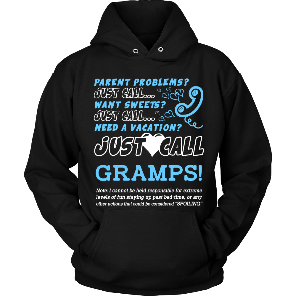 Just Call Gramps T-Shirt - Gramps Shirt - TeeAmazing