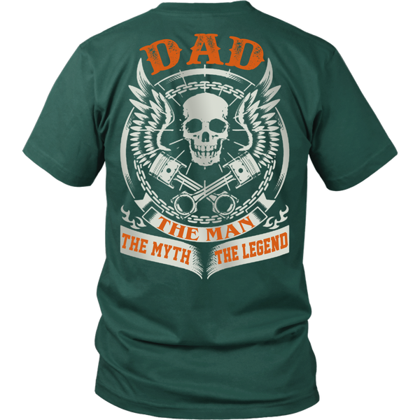 DAD The Man The Myth The Legend T Shirts, Tees & Hoodies - Dad Shirts - TeeAmazing - 3