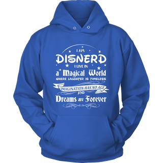 Disnerd Live in a Magical World Hoodie - TeeAmazing