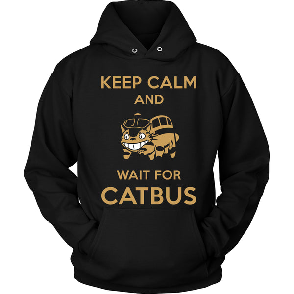 Keep Calm Catbus T Shirts, Tees & Hoodies - Totoro Shirts - TeeAmazing - 1