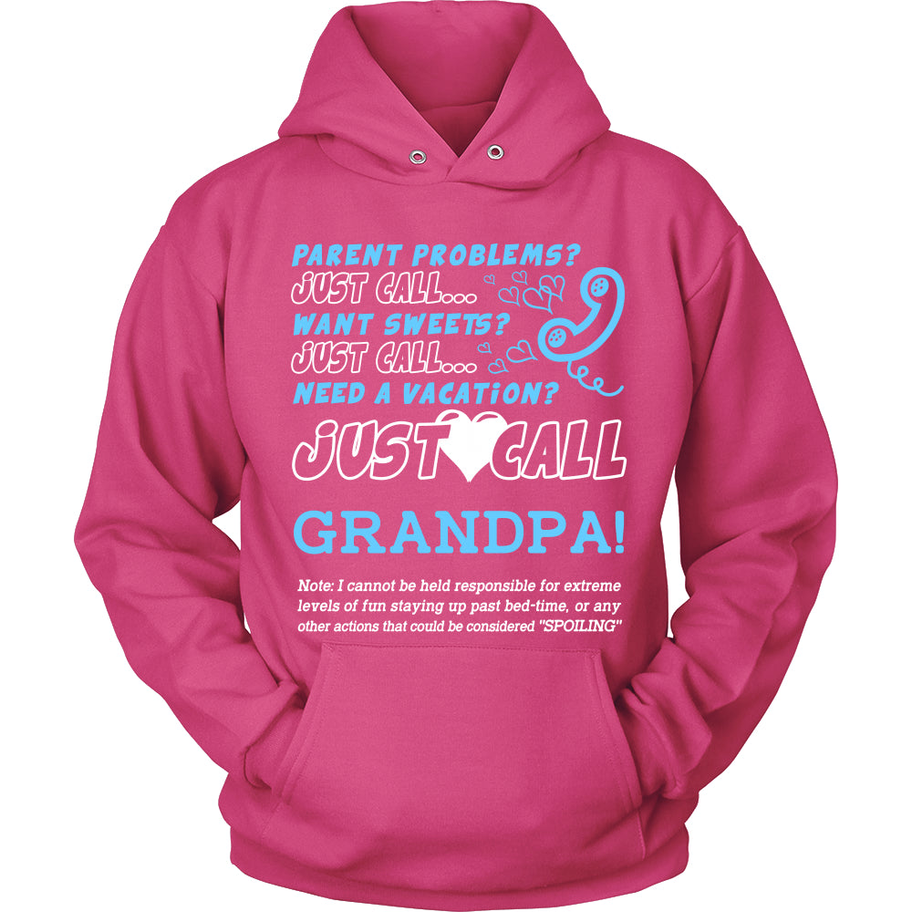 Just Call Grandpa T-Shirt - Grandpa Shirt - TeeAmazing