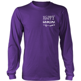 Happiness is Being Grandma T-Shirt - Grandma Shirt - TeeAmazing