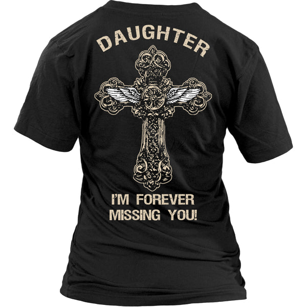 I'm Forever Missing You! Daughter T-Shirt - Family Shirt - TeeAmazing - 13