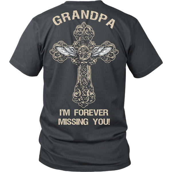 I'm Forever Missing You! Grandpa T-Shirt - Family Shirt - TeeAmazing - 4