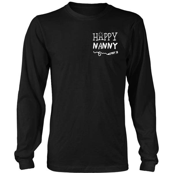Happiness is Being Nanny T-Shirt - Nanny Shirt - TeeAmazing - 15