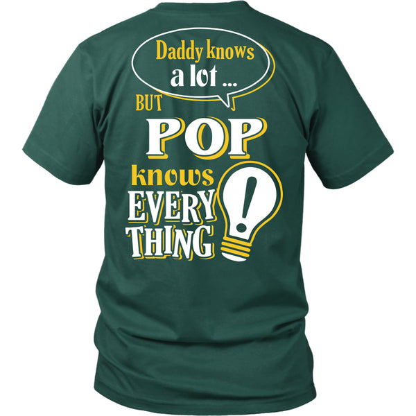 Pop Knows More T-Shirt -  Pop Shirt - TeeAmazing - 6
