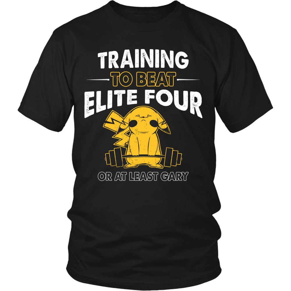 Training To Beat Elite Four T Shirts, Tees & Hoodies -  Pokemon Shirts - TeeAmazing