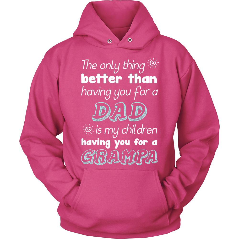 My Children Having You For A Grampa T Shirts, Tees & Hoodies - Grandpa Shirts - TeeAmazing