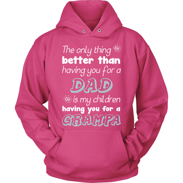 My Children Having You For A Grampa T Shirts, Tees & Hoodies - Grandpa Shirts - TeeAmazing - 8
