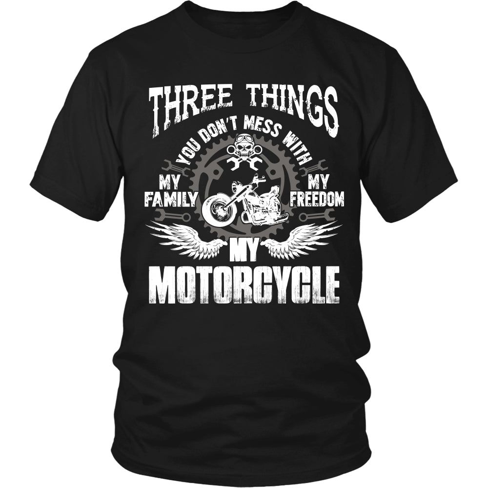 Created Equal Grandpa Motorcycle T-Shirt - Grandpa Motorcycle Shirt DT6000
