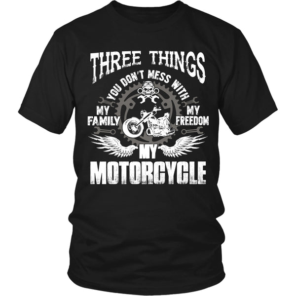 Three Things...My Motorcycle T-Shirt - Motorcycle Shirt - TeeAmazing - 6
