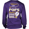 Pops Knows More T-Shirt -  Pops Shirt - TeeAmazing - 12