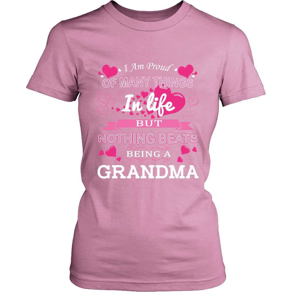 Nothing Beats Being a Grandma T-Shirt - Grandma Shirt - TeeAmazing