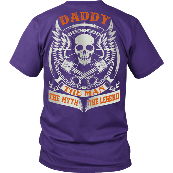 DADDY The Man The Myth The Legend T Shirts, Tees & Hoodies - Dad Shirts - TeeAmazing - 2