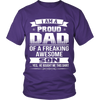 I Am A Proud Dad, Son T Shirts, Tees & Hoodies - Dad Shirts - TeeAmazing - 4