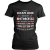 Gramps Biker With My Motorcycle T-Shirt - Gramps Motorcycle Shirt - TeeAmazing - 9