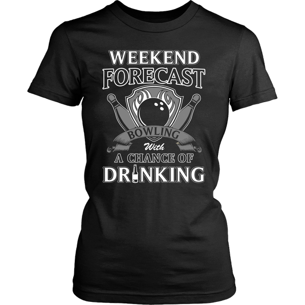 Bowling with Drinking T Shirts, Tees & Hoodies - Bowling Shirts - TeeAmazing - 9