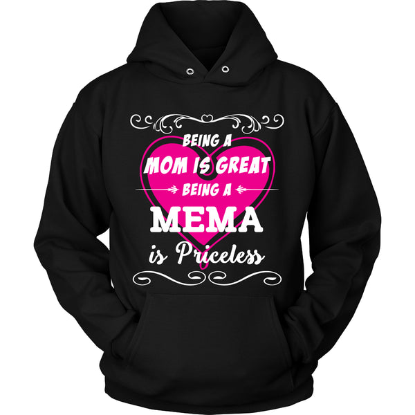 Being Mema Mom Is Priceless T-Shirt - Mema Shirt - TeeAmazing - 1