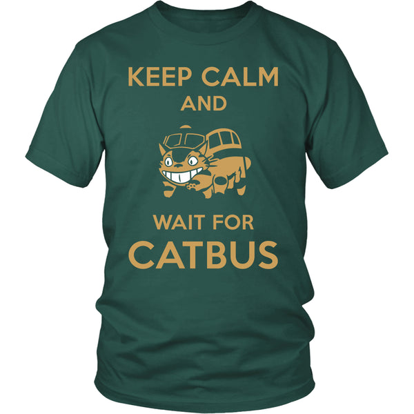 Keep Calm Catbus T Shirts, Tees & Hoodies - Totoro Shirts - TeeAmazing - 4