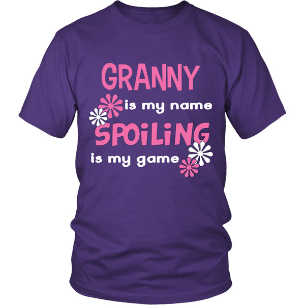 Granny Is My Name... T-Shirt - Granny Shirt - TeeAmazing - 2