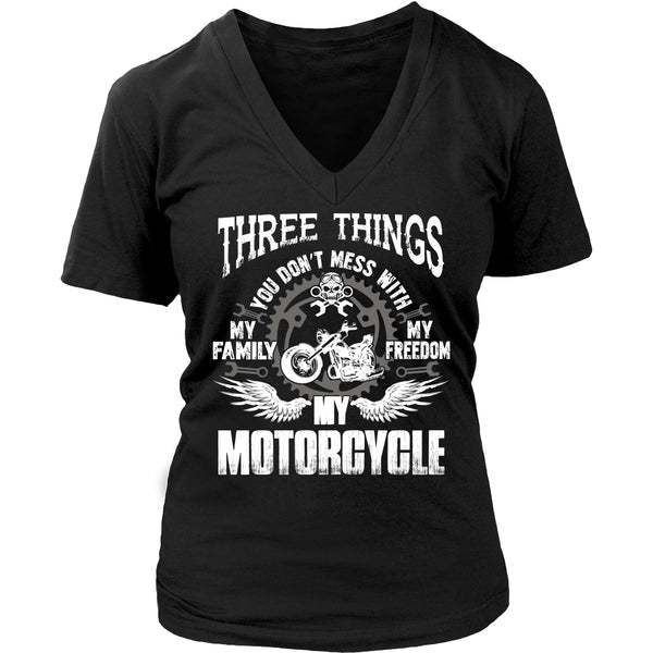 Three Things...My Motorcycle T-Shirt - Motorcycle Shirt - TeeAmazing - 13