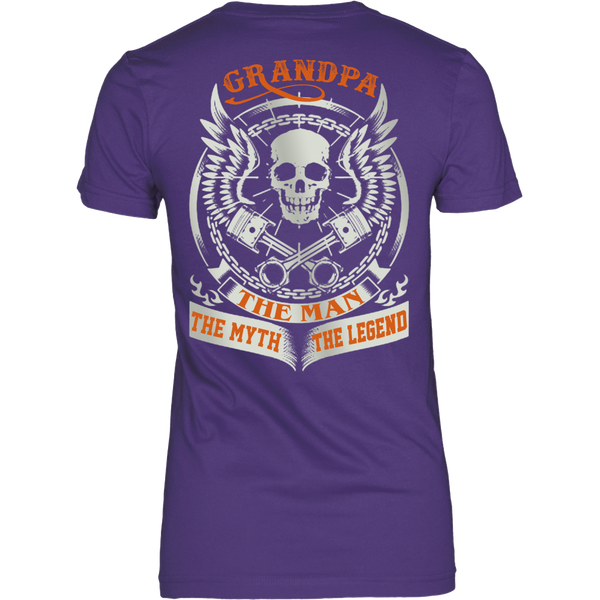 Grandpa The Man The Myth The Legend T Shirts, Tees & Hoodies - Grandpa Shirts - TeeAmazing - 10