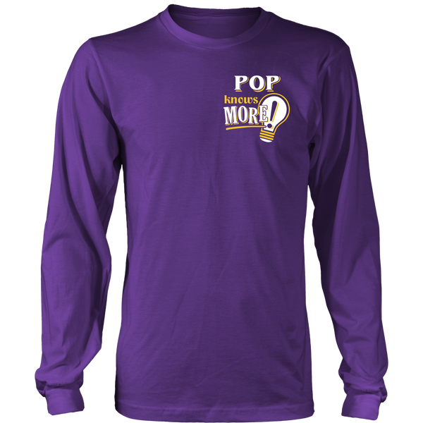 Pop Knows More T-Shirt -  Pop Shirt - TeeAmazing - 11