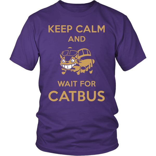 Keep Calm Catbus T Shirts, Tees & Hoodies - Totoro Shirts - TeeAmazing - 3