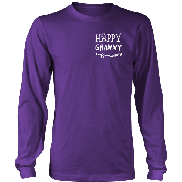 Happiness is Being Granny T-Shirt - Granny Shirt - TeeAmazing - 13