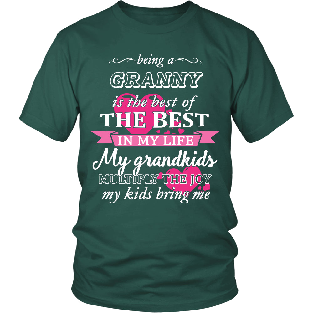 Being a Granny Is The Best T-Shirt - Granny Shirt - TeeAmazing