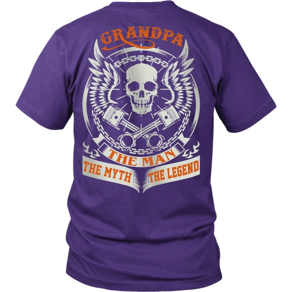 Grandpa The Man The Myth The Legend T Shirts, Tees & Hoodies - Grandpa Shirts - TeeAmazing - 2
