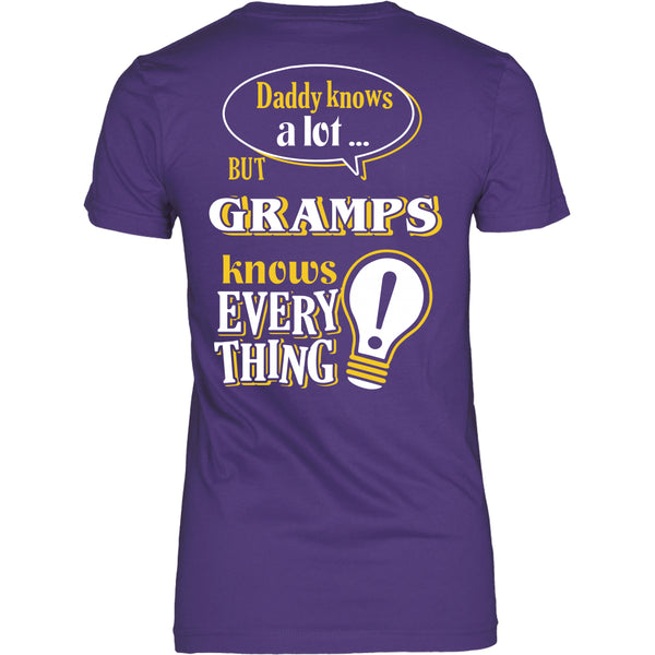 Gramps Knows More T-Shirt -  Gramps Shirt - TeeAmazing - 20